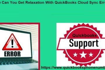QuickBooks cloud sync error