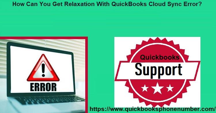 QuickBooks cloud sync error