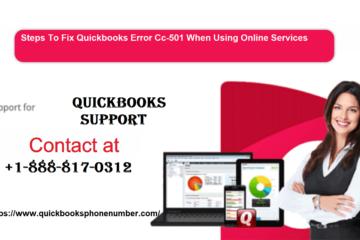 QuickBooks Error Cc-501