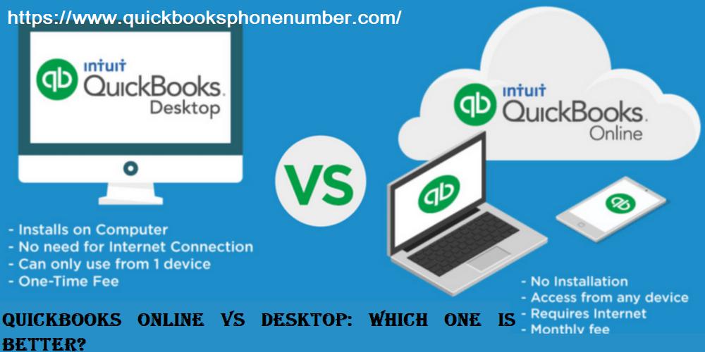 QuickBooks Online VS Desktop: Which One Is Better?