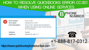 Resolve QuickBooks Error CC-501