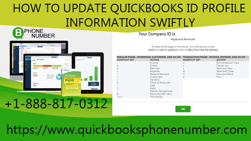 How To Update QuickBooks Id Profile Information Swiftly?