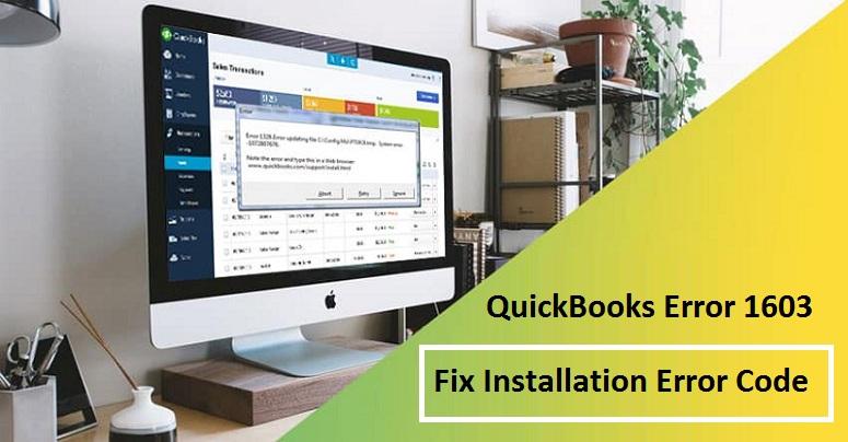 QuickBooks-Error-1603