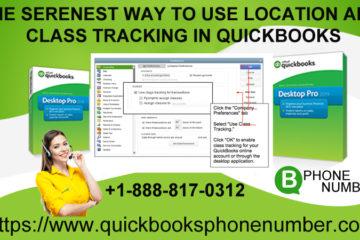 QuickBooks online class tracking