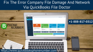 Use QuickBooks File Doctor to Fix Company File