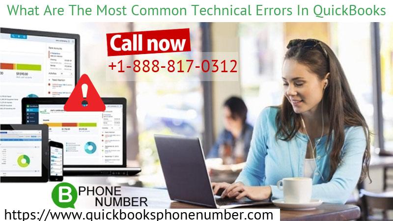Technical Errors In QuickBooks