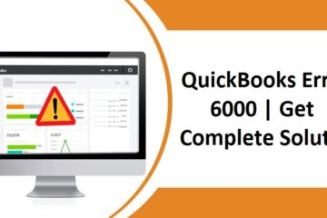 Fix QuickBooks Error 6000