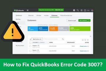 QuickBooks-Error-Code-3007