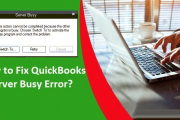 QuickBooks-Server-Busy-Error