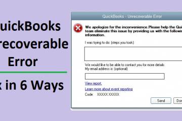 QuickBooks-Unrecoverable-Error