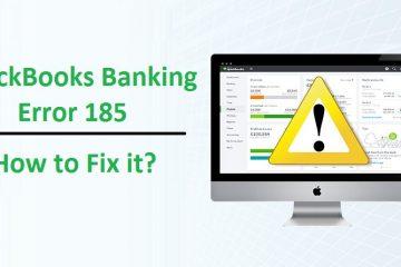 QuickBooks-Banking-Error-185