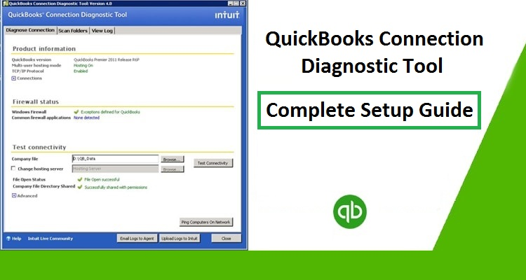 QuickBooks-Connection-Diagnostic-Tool