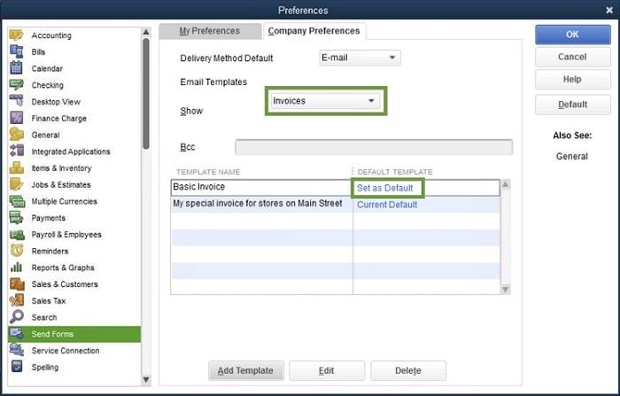 Set_a_default_email_template