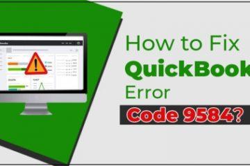 QuickBooks Error Code 9584