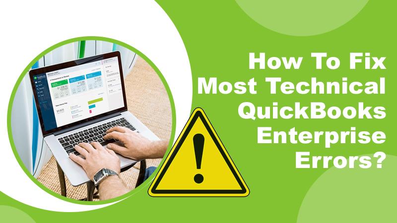 QuickBooks Enterprise Errors